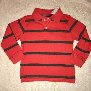 The Children's Place Shirts & Tops - Children's place Boys long sleeve collar polo NWT